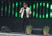 Jan-Willem tijdens festival in Gemert 2016
