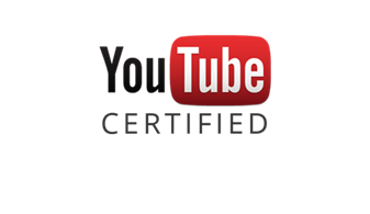 Media Presentaties is door YouTube gecertificeerd