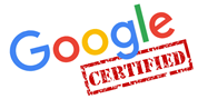 Media Presentaties is gecertificeerd Online Marketing door Google
